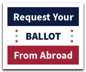 register to vote from abroad