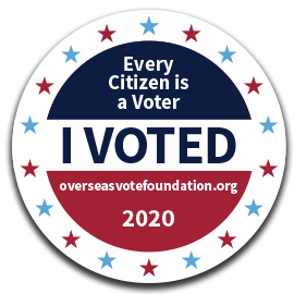 i voted from overseas