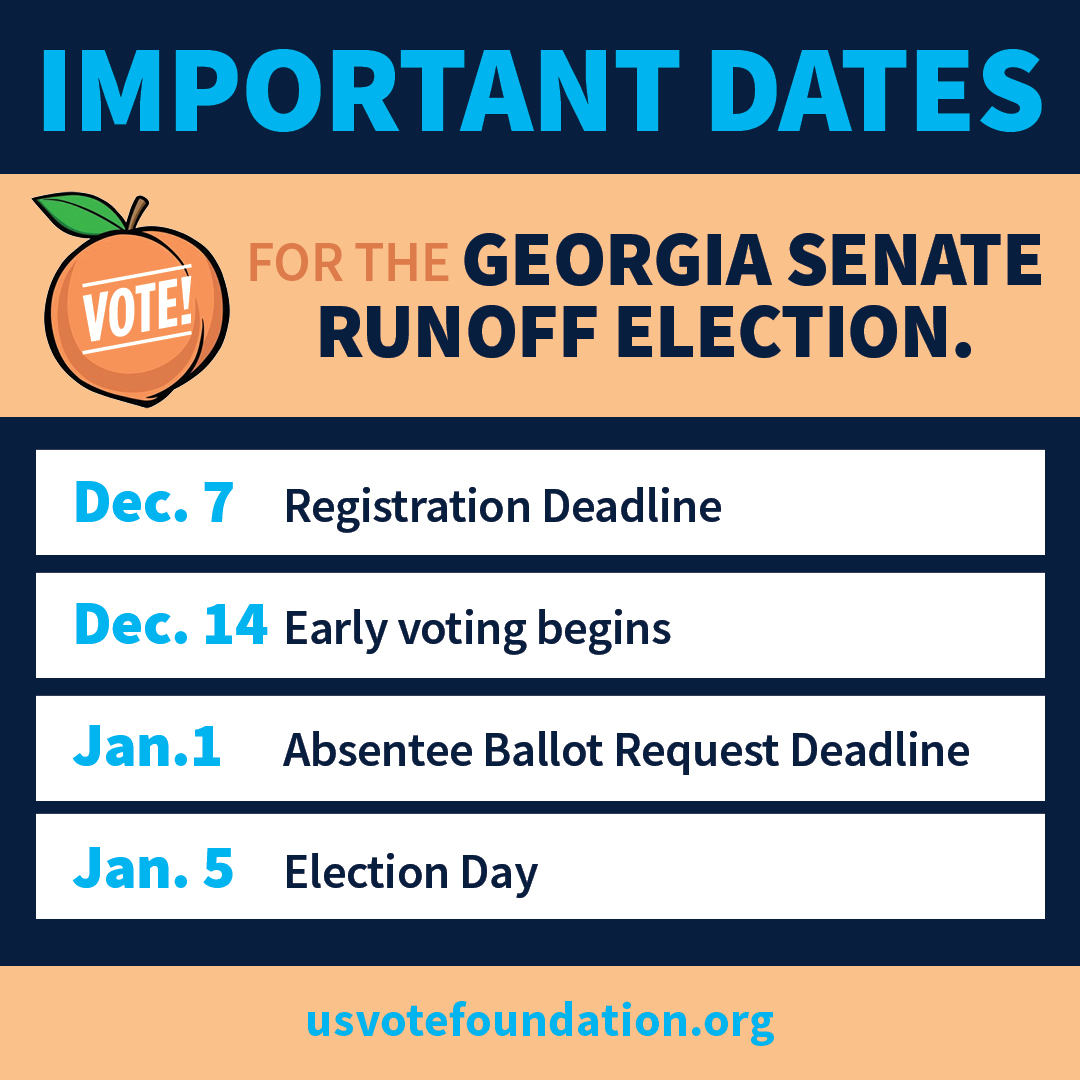 GA Runoff Important Dates Image