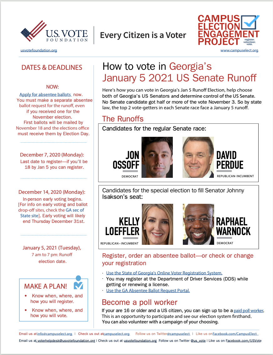 How to Vote in the Runoff