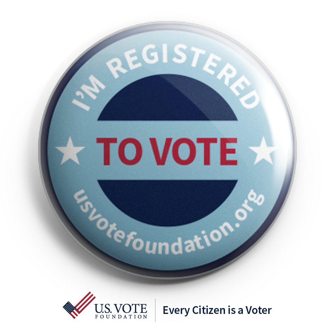 I am registered to vote