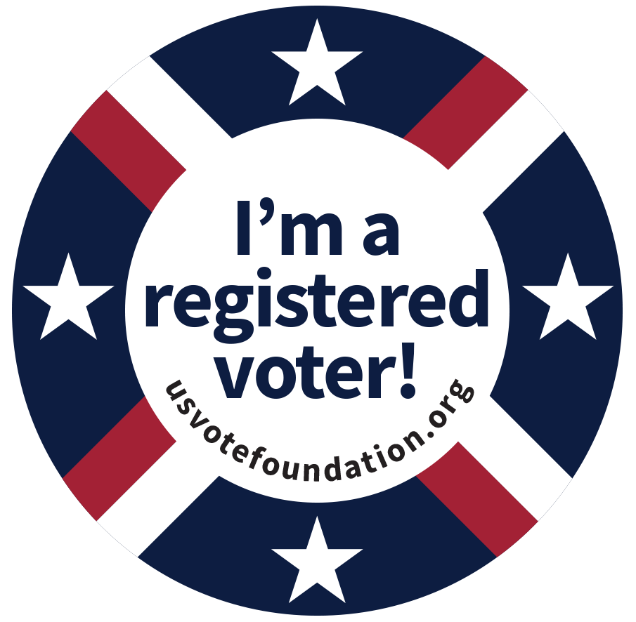 i'm a registered voter